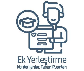 2020 - YKS Ek Yerleştirme Kontenjanları